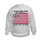 Grand Union Flag Kids Sweatshirt