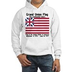 Grand Union Flag Hooded Sweatshirt
