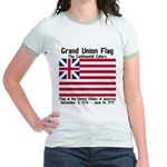 Grand Union Flag Jr. Ringer T-Shirt