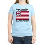 Grand Union Flag Women's Light T-Shirt