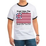 Grand Union Flag Ringer T