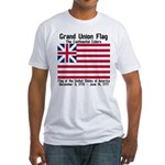 Grand Union Flag Fitted T-Shirt