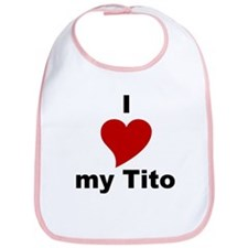 I Love My Tito Bib