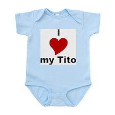 I Love My Tito Infant Creeper