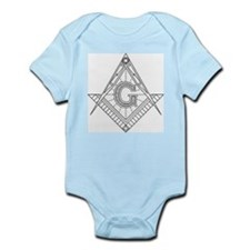 Lucid Square and Compasses Infant Bodysuit