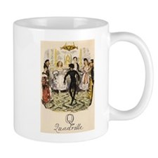 Q is for Quadrille Mug