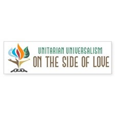 UU On the Side of Love Bumper Sticker (10 pk)
