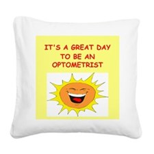 OPTOMETRIST.png Square Canvas Pillow