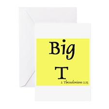 Big-T Shirts Greeting Cards (Pk of 10)