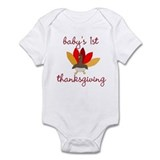 First Thanksgiving Infant Bodysuit