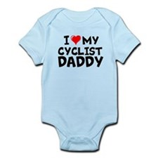 Cyclist Daddy Infant Bodysuit