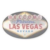 Las Vegas Rectangle Decal