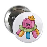 "Cute Octopus 2.25"" Button (100 pack)"