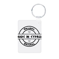Made in Cyprus Aluminum Photo Keychain