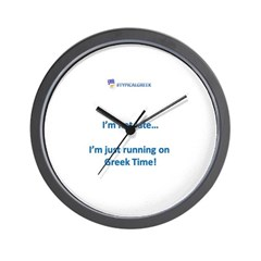greek time.png Wall Clock