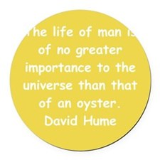 hume13.png Round Car Magnet
