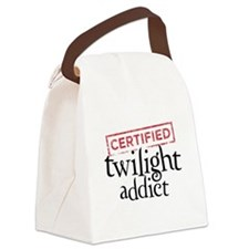 Certified Twilight Addict Canvas Lunch Bag