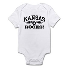 Kansas Rocks Infant Bodysuit