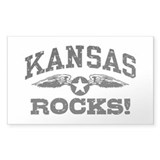 Kansas Rocks Decal