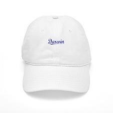 Darwin, Blue, Aged Cap