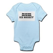 Never Too Much ICE HOCKEY Infant Creeper