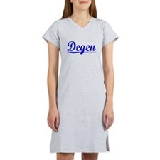 Degen, Blue, Aged Women's Nightshirt