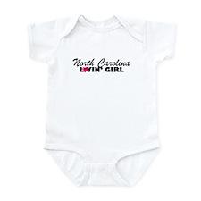 North Carolina Loving girl Infant Creeper