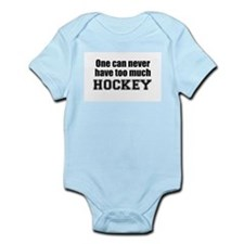 Never Too Much HOCKEY Infant Creeper