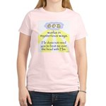 Mysterious Ways Women's Pink T-Shirt