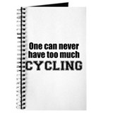 Never Too Much CYCLING Journal
