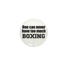 Never Too Much BOXING Mini Button (100 pack)