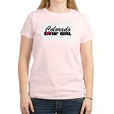 Colorado Loving girl Women's Pink T-Shirt