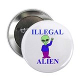 "Illegal Alien 2.25"" Button (100 pack)"