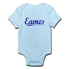 Eames, Blue, Aged Infant Bodysuit