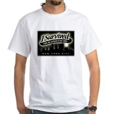 I SURVIVED THE BLACKOUT TShirt(white)