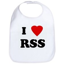 I Love RSS Bib