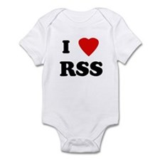 I Love RSS Infant Creeper