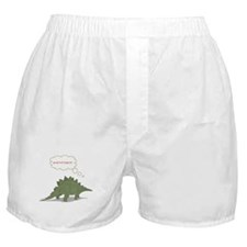 THINKING DINO Boxer Shorts