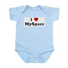I Love MySpace Infant Creeper