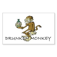 Drunken Monkey Decal
