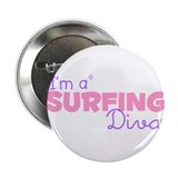 I'm a Surfing diva Button