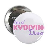 I'm a Skydiving diva Button