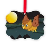 FRIGHT NIGHT FLIGHT Picture Ornament
