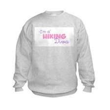 I'm a Hiking diva Sweatshirt