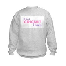 I'm a Cricket diva Sweatshirt