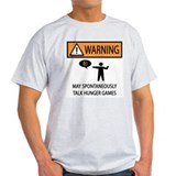 Warning Talk Hunger Games T-Shirt