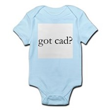 got cad? Infant Creeper