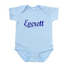 Everett, Blue, Aged Onesie