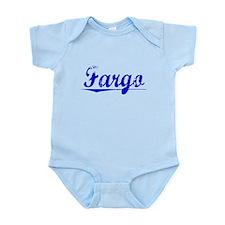 Fargo, Blue, Aged Infant Bodysuit
