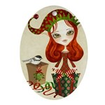 Jollybelle Christmas Ornament (Oval)